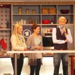 """Melanie Kogler, Claus Thull-Emden, Tatjana Kästel (""""Verbotene Liebe"""") and TV host Maxi Arland"""
