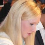 "Actress Melanie Kogler (""Marlene"" on ""Verbotene Liebe"") at IFA 2012"