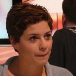 "Actress Tatjana Kästel (""Rebecca"" on ""Verbotene Liebe"") at IFA 2012"